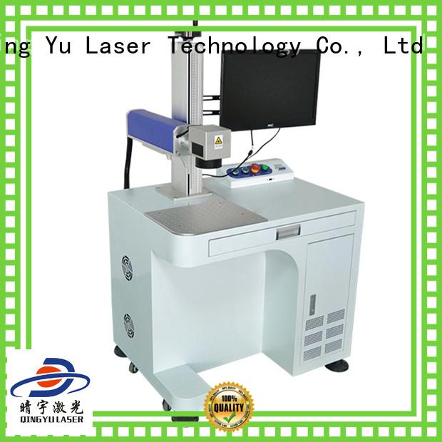 Qingyu portable laser marker manufacturer for beverage