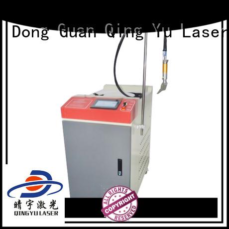 Qingyu efficient laser welder low energy consumption for large workpieces