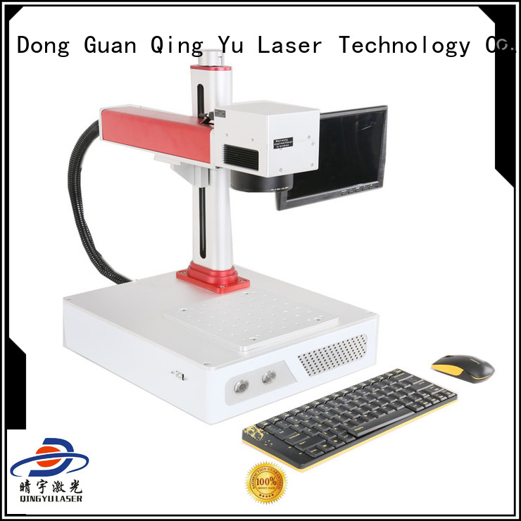 Qingyu portable best laser marking machines series for cloth