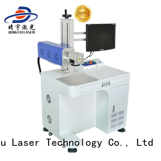 RF Metal Co2 Laser Marking Co2 Laser Engraving Machine for Ceramic, Animal Tag, Food Package Box