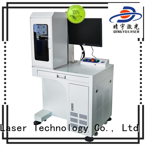 Qingyu stable mini laser marking machine for electronic