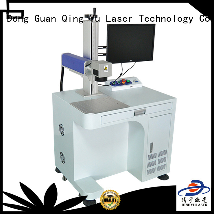 Qingyu portable laser marking machine supplier for food