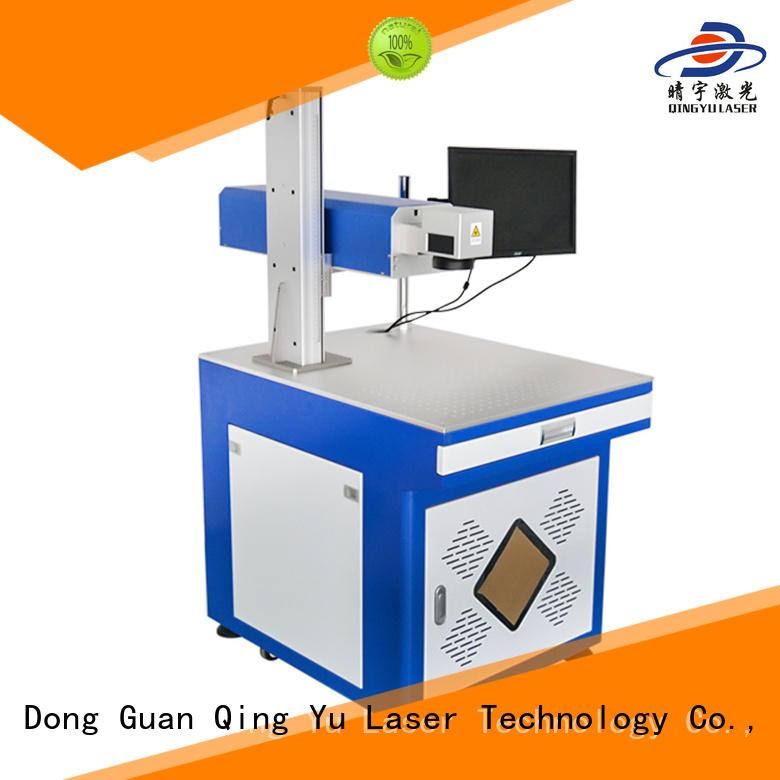 Qingyu portable laser marker manufacturer for food