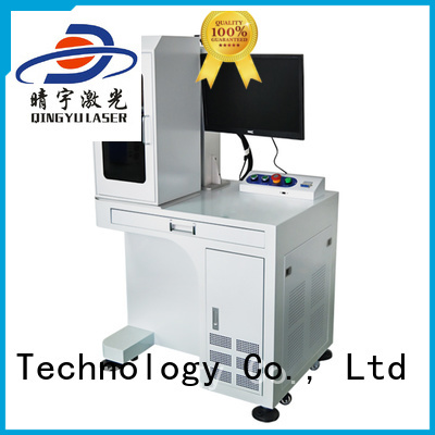 Qingyu portable laser marking companies supplier for beverage