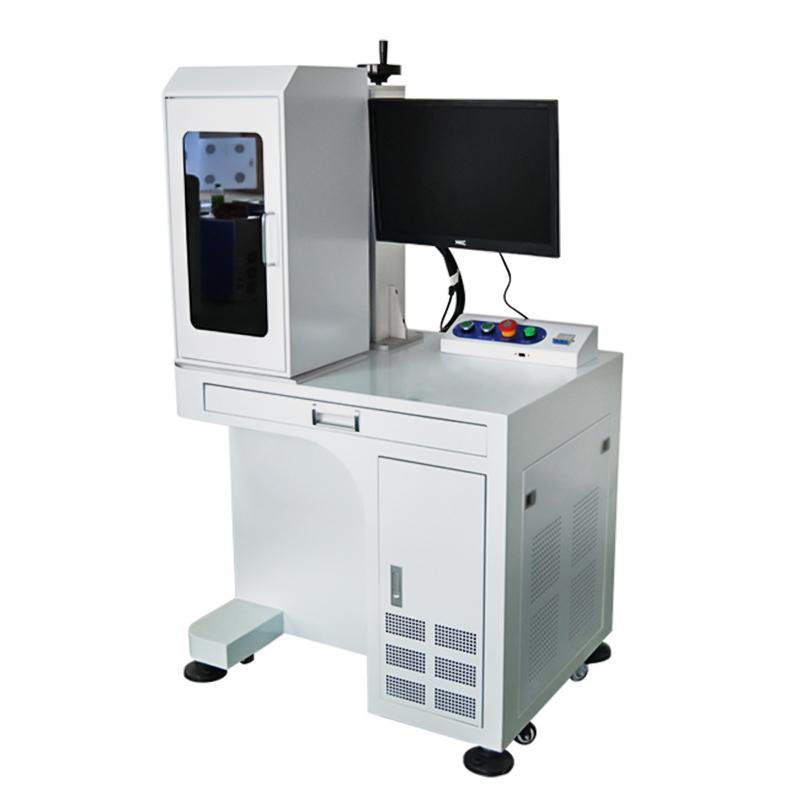 20W 30W JPT MOPA Jewelry Color Fiber Laser Marking Printing Engraving Machine
