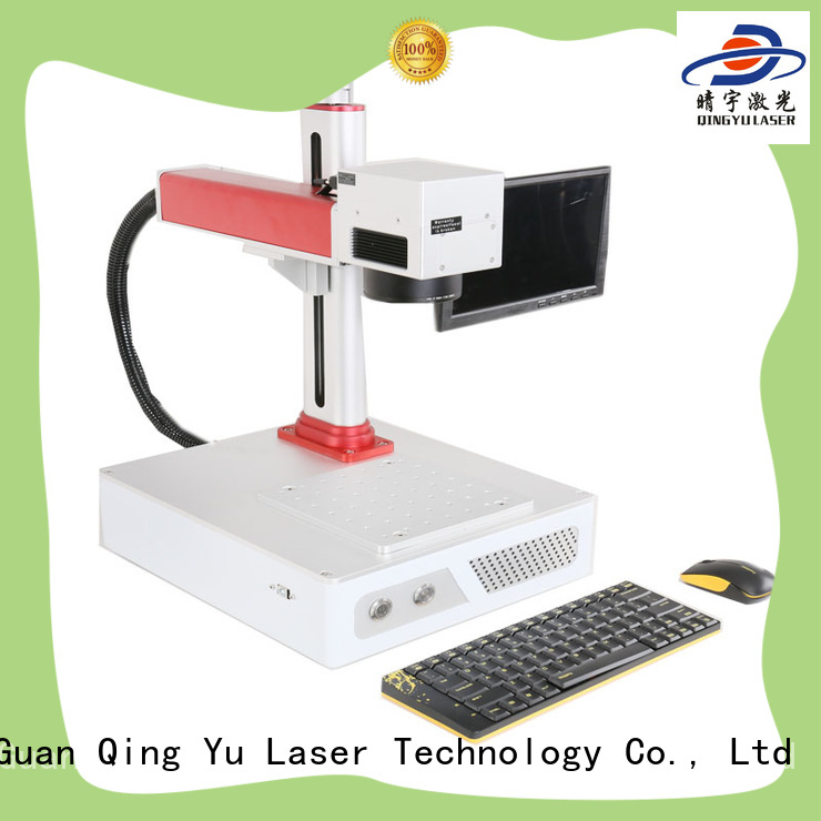 20w 30w portable mini fiber laser marking machine for metal