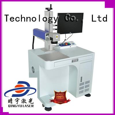 Qingyu laser marking companies manufacturer for beverage