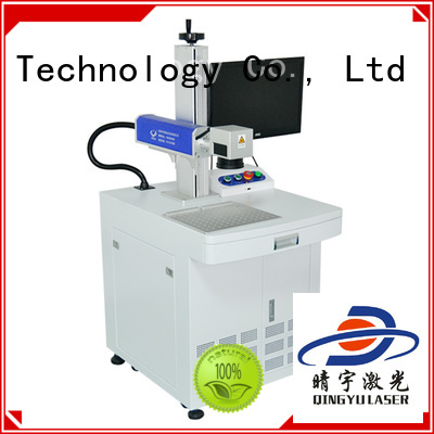 laser marking machine manufacturers manufacturer for cloth Qingyu