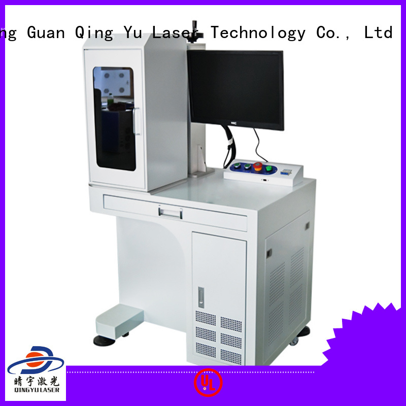 Qingyu portable laser marking machine supplier series for electronic