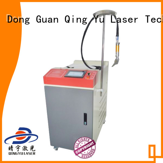 Qingyu professional laser welding equipment supplier for outer right angle