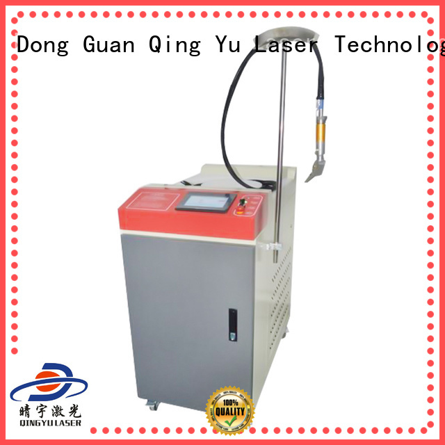 Qingyu efficient laser welding machine factory price for flat weld welding