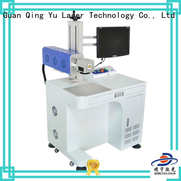 Qingyu stable affordable laser marking machine series for food