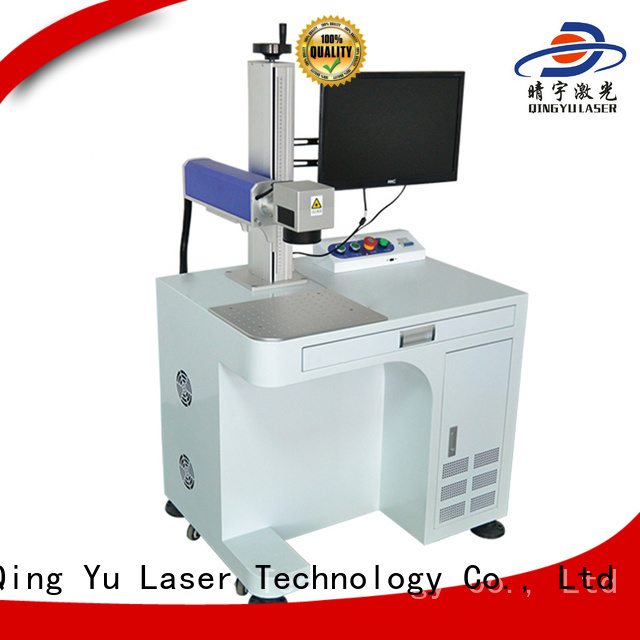 Qingyu portable affordable laser marking machine customized for food