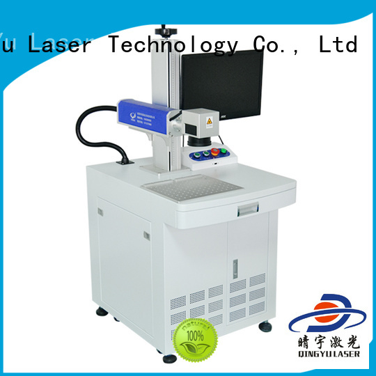 Qingyu high precise affordable laser marking machine customized for meter