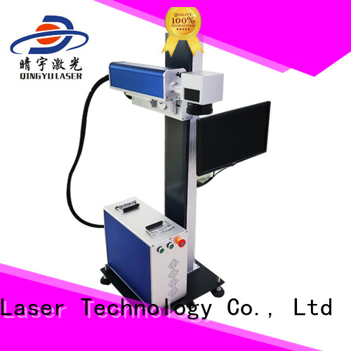 Qingyu high speed laser marking machine cost supplier for beverage