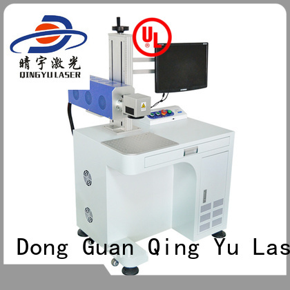 Qingyu stable laser marking machine cost customized for food