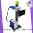 Fiber Online Flying Laser Marking Machine with Raycus 20W 30W 50W