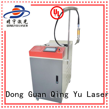 Qingyu laser welder factory price for flat weld welding