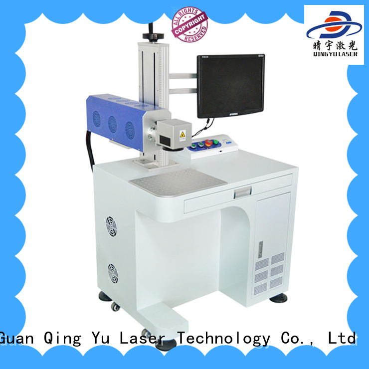 high precise laser marking machine customized for food