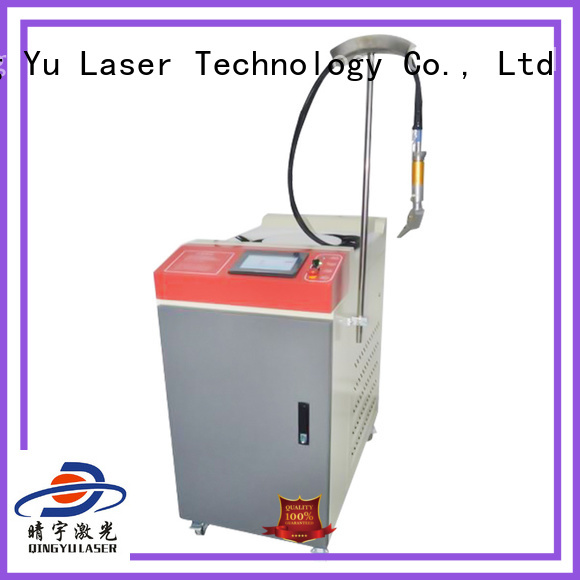 Qingyu laser welder personalized for large workpieces