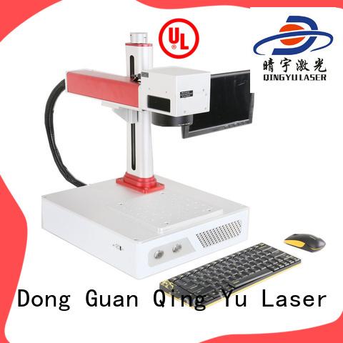 Qingyu affordable laser marking machine customized for beverage