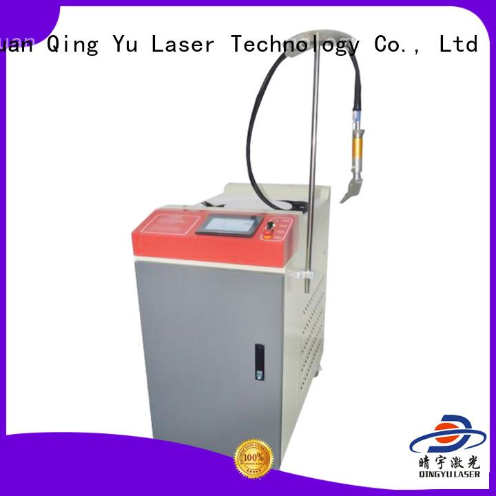 Qingyu efficient laser welder supplier for large workpieces
