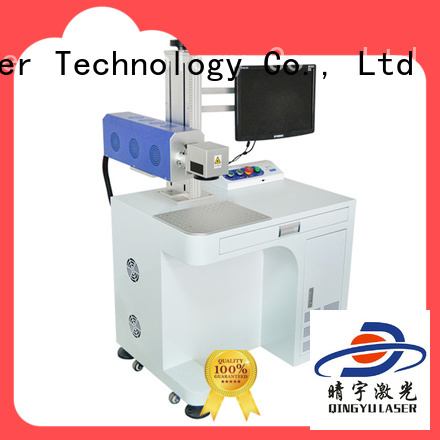 Qingyu best laser marking machines series for beverage
