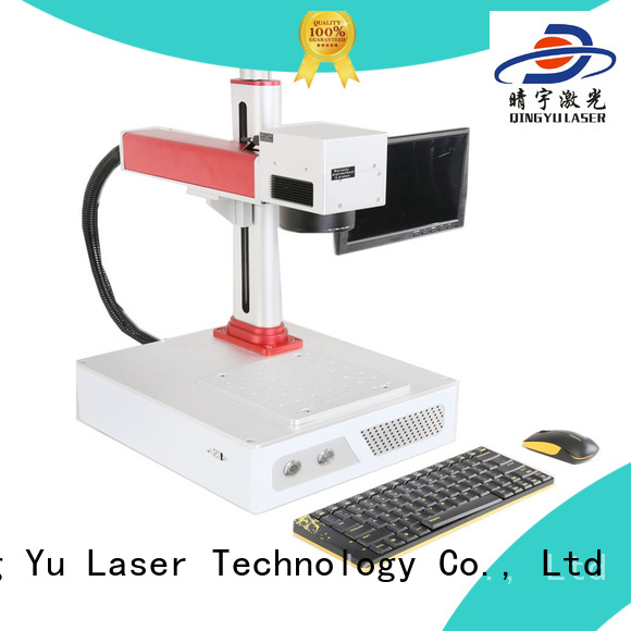 Qingyu stable laser marking machine supplier series for beverage