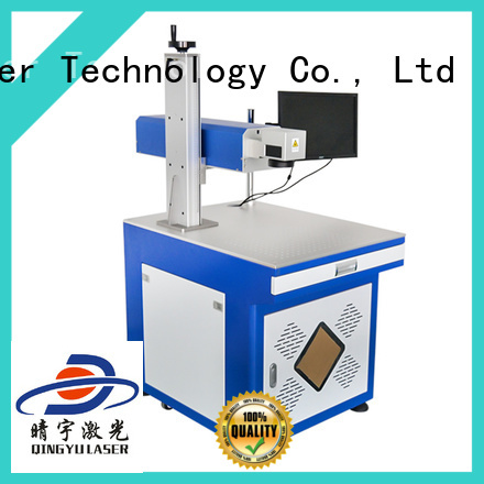 Qingyu stable laser marking machine price for meter