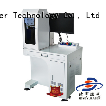 Qingyu high precise co2 laser marking machine for electronic