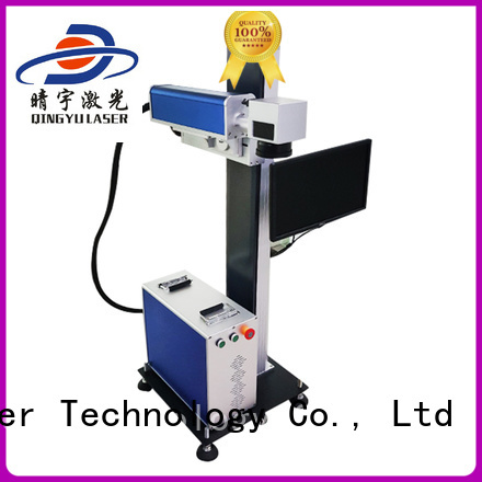 stable best laser marking machines customized for cloth