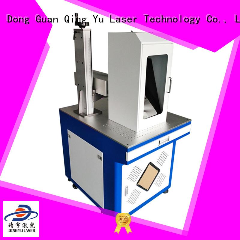 Qingyu laser marking machine cost manufacturer for cloth