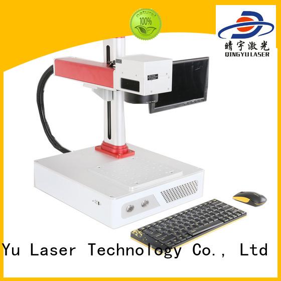 Qingyu high speed laser marking machine manufacturer for meter