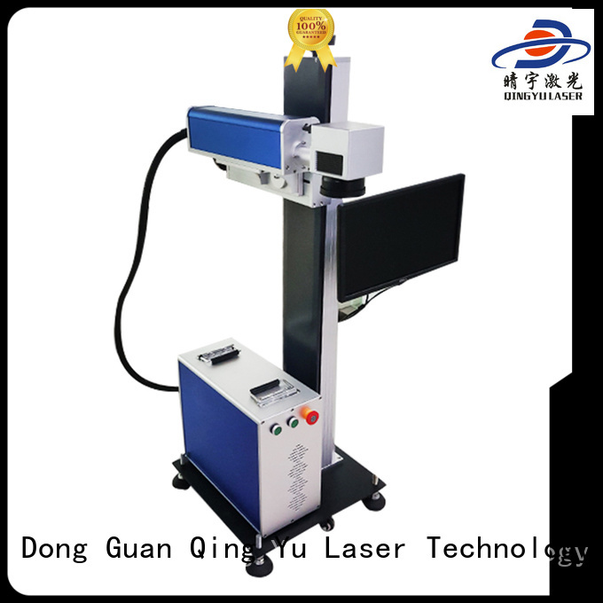 Qingyu laser marking machine cost manufacturer for meter