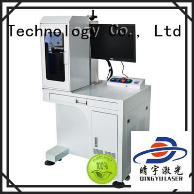 Qingyu portable laser marking companies supplier for food