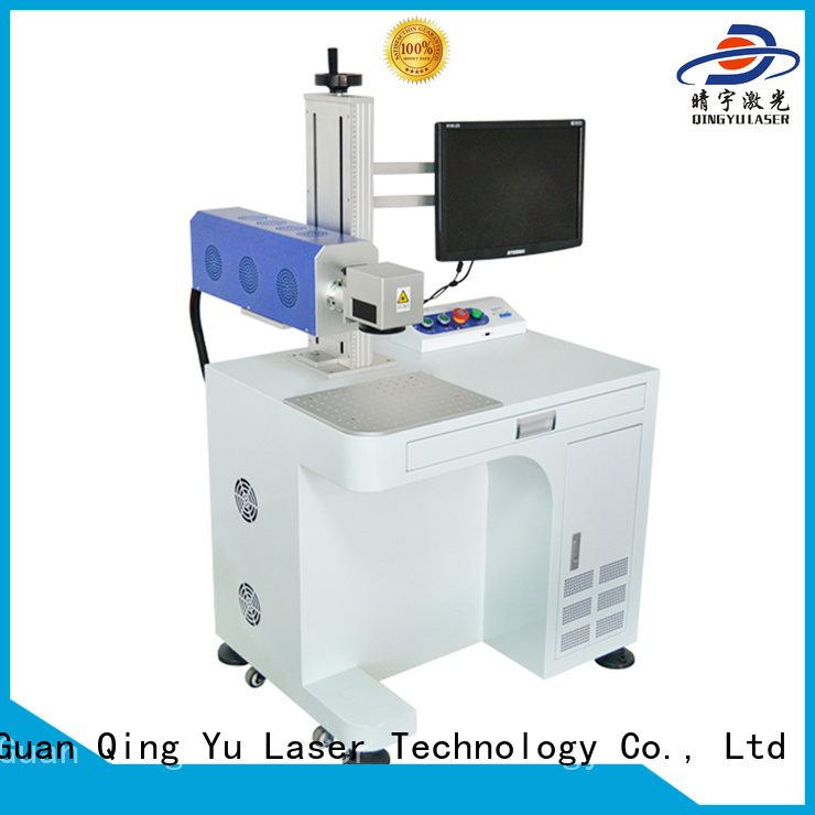 Qingyu laser marking machine cost supplier for cloth