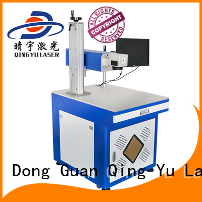 Qingyu laser marking machine manufacturers series for beverage