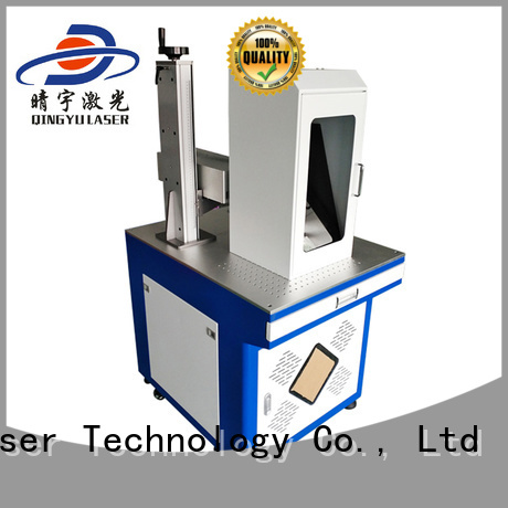 Qingyu high speed laser marking companies supplier for food