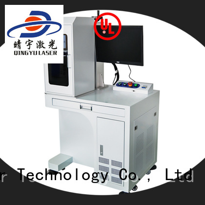 Qingyu laser marking machine cost supplier for leather