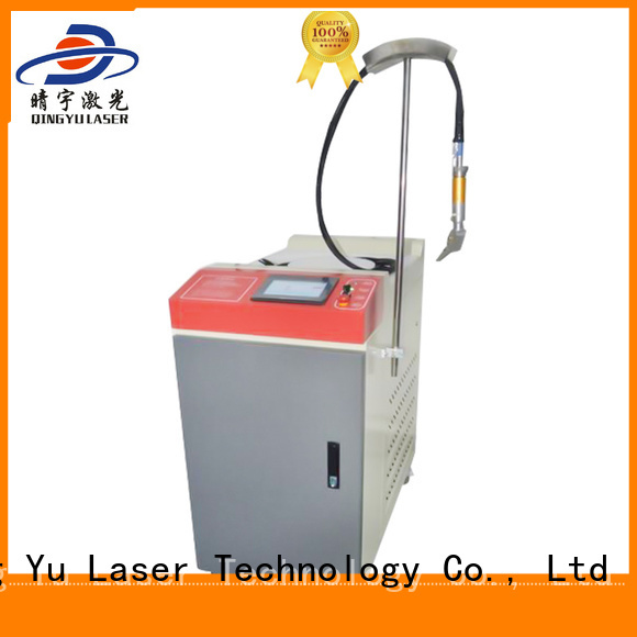 Qingyu good quality laser welder personalized for inner right angle
