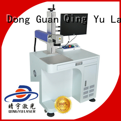Qingyu stable laser marking machine manufacturers manufacturer for leather