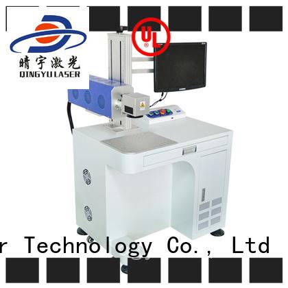 RF Metal Co2 Laser Marking Co2 Laser Engraving Machine for Ceramic, Animal Tag, Food Package Box