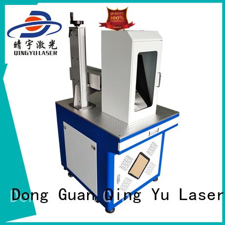 Qingyu stable laser marking companies manufacturer for beverage