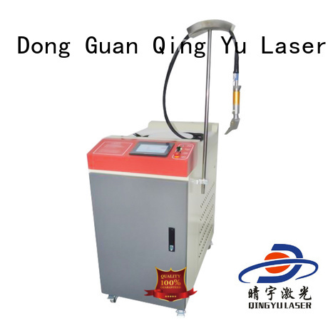 Qingyu professional laser welding machine supplier for outer right angle