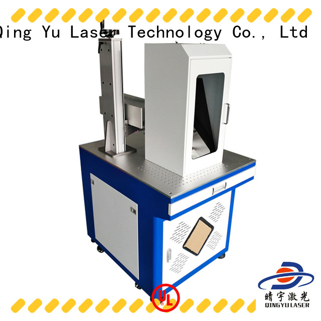 7W/10W Green 532nm Laser marking machine for plastic/glass surface/food/Jade