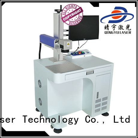 Qingyu stable laser marking machine cost customized for beverage