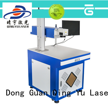 Qingyu high precise laser marking machine cost manufacturer for electronic