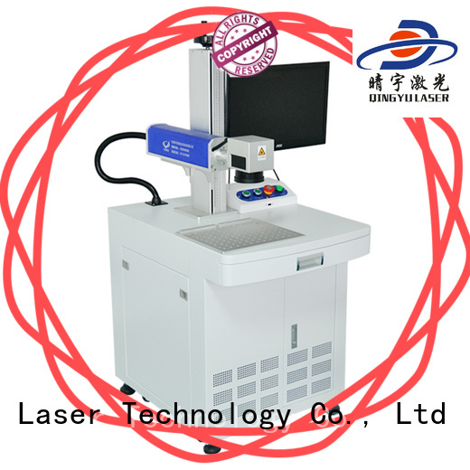 Qingyu laser marking machine supplier series for beverage