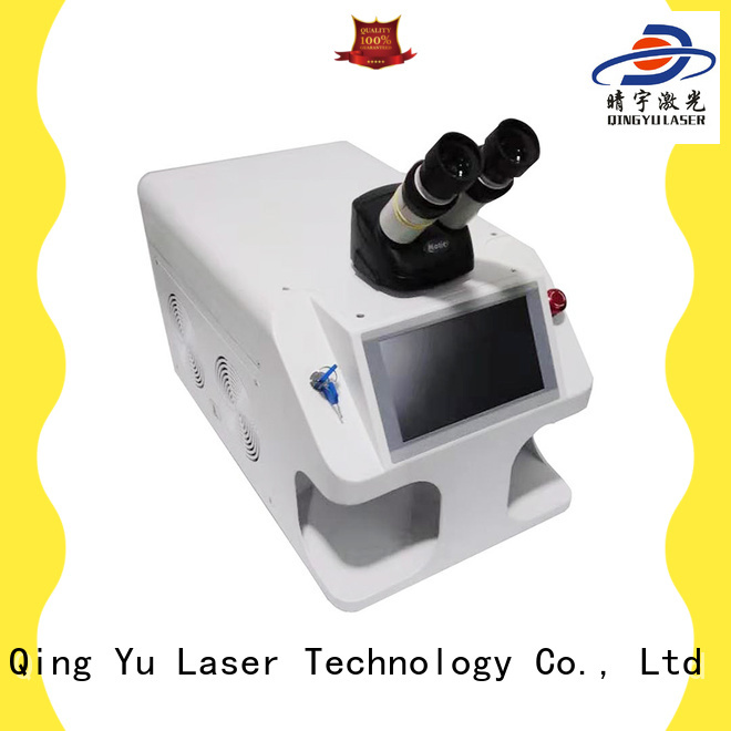 Qingyu good quality laser welder wholesale for outer right angle