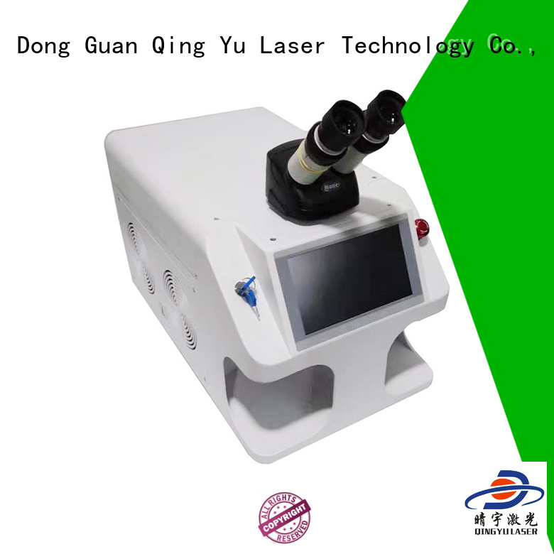 Qingyu good quality laser welder factory price for large workpieces
